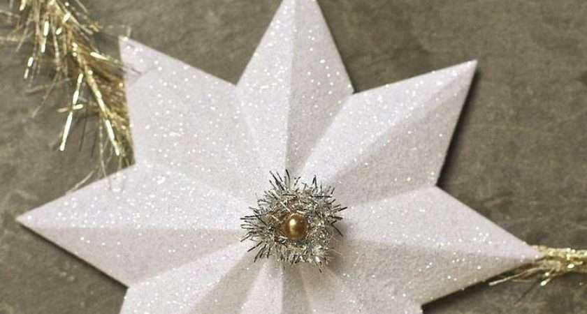 Make Paper Christmas Star Art Ideas Crafts