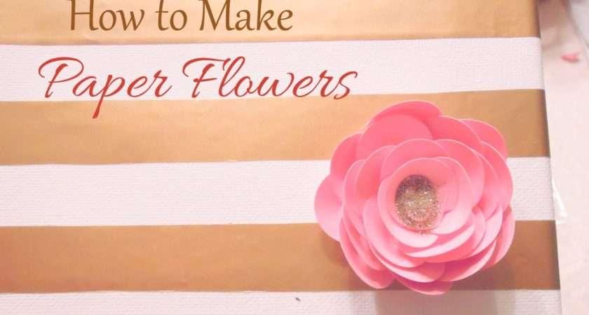 Make Paper Flowers Craft