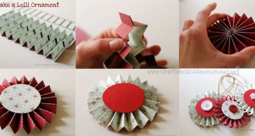 Make Paper Lollies