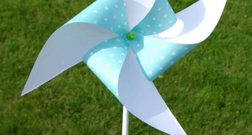 Make Paper Pinwheel Love Inspire