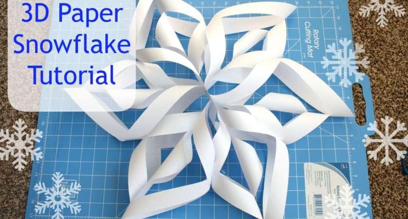 Make Paper Snowflake Events Celebrate