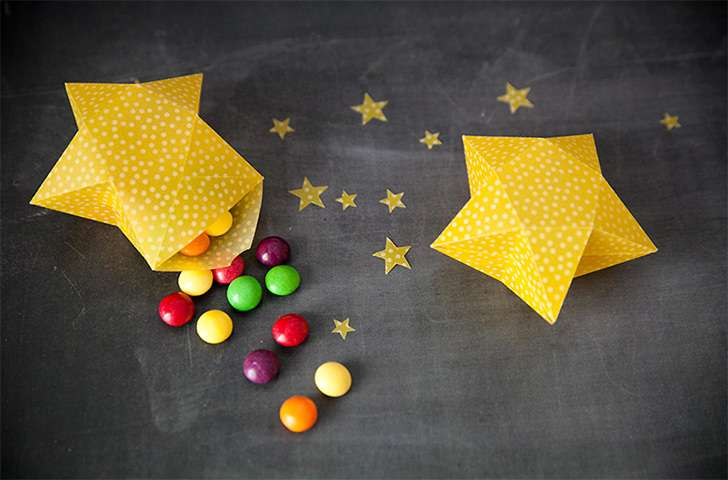 Make Paper Star Box Diy Crafts Handimania