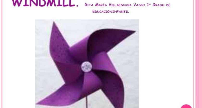 Make Paper Windmill