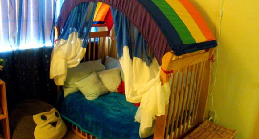 Make Rainbow Canopy Your Room