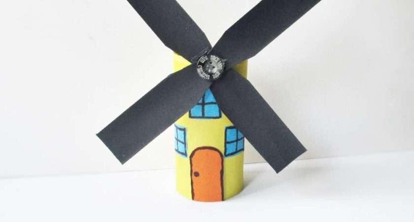 Make Simple Windmill Model Home Impremedia