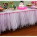 Make Table Skirting Step