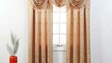 Make Waterfall Valance Curtain