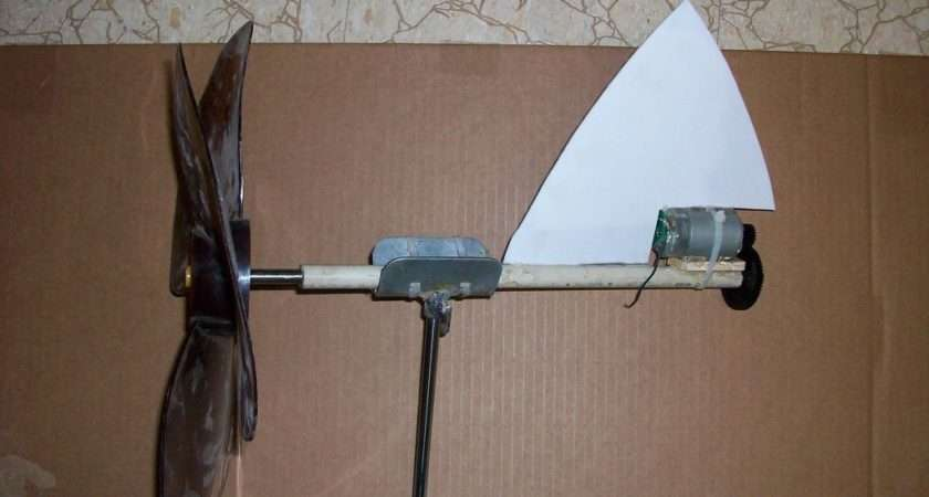 Make Wind Generator Turbine Out Household Items