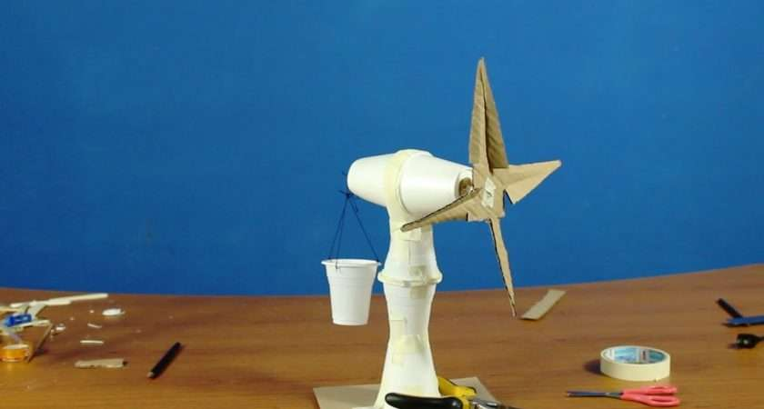 Make Windmill Classroom Hands Activity Project