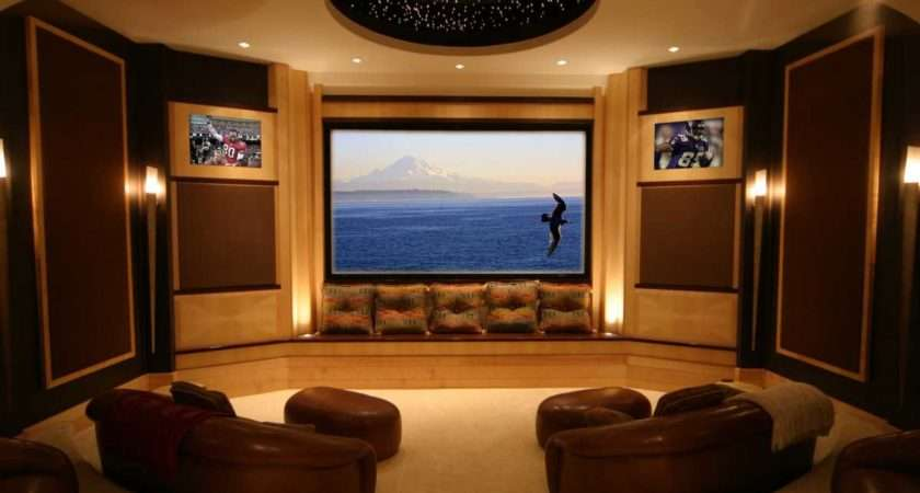 Make Your Living Room Theater Design Ideas Amaza
