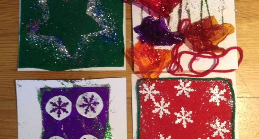 Make Your Own Christmas Cards Kids Modern Mummy
