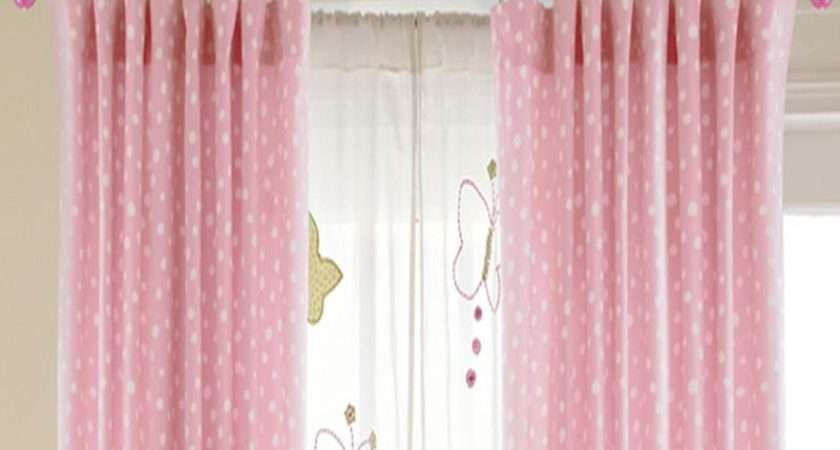 Make Your Own Curtains Pink Color
