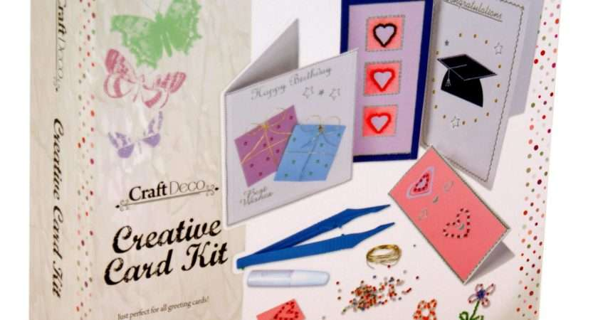 Make Your Own Greeting Cards Kit Card Making Create