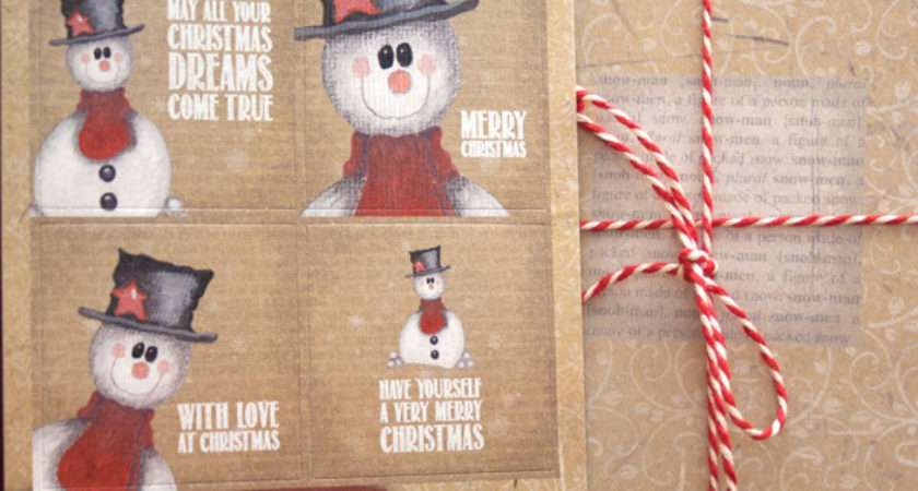 Make Your Own Snowman Christmas Cards Designs Pine
