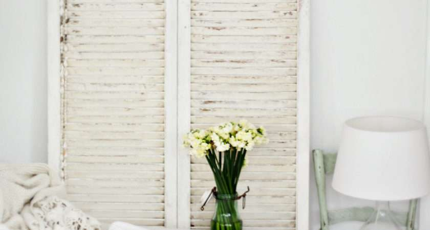 Makeover Vintage Shutters Get Beach Cottage Decor