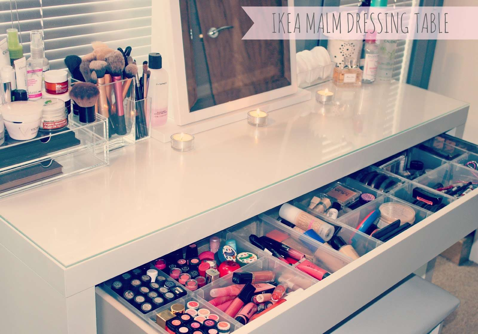 Makeup Storage Dressing Table Collection Ideas