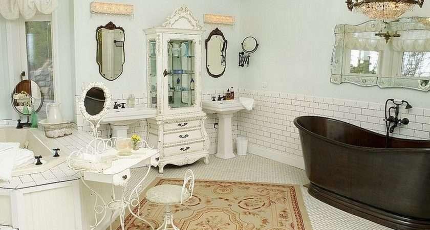 Making Shabby Chic Bathroom
