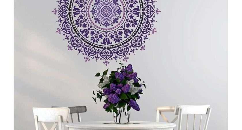 Mandala Stencil Prosperity Furniture