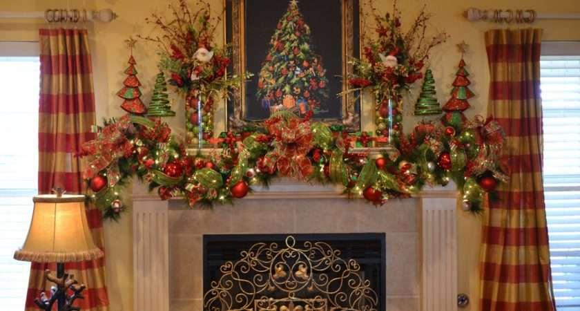 Mantel Decorations Decor Fireplace Decorating Ideas