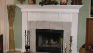 Mantel Ideas White Fireplace Decorate Mantle