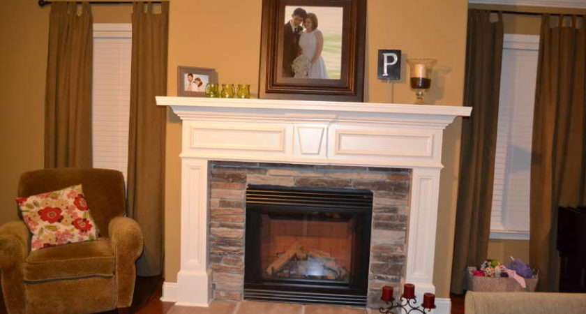 Mantel Paint Ideas Get Relaxing Peaceful Fireplace