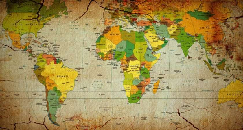 Maps Countries Continents World