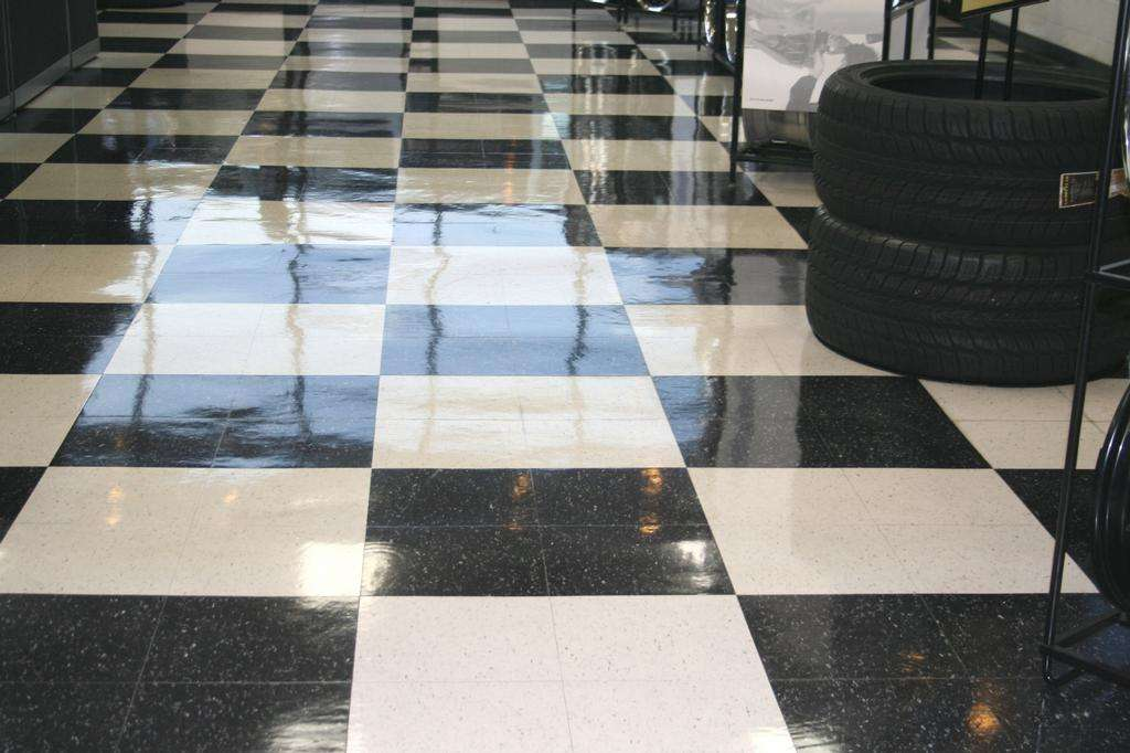 Marble Floor Polishing Restoration Orange Afterglow