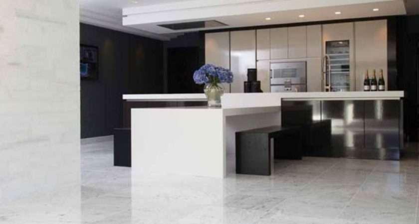 Marble Flooring Kitchen Ideas Housetohome