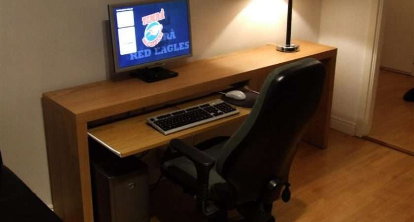 Marcus Nyberg Ikea Hack Malm Computer Desk