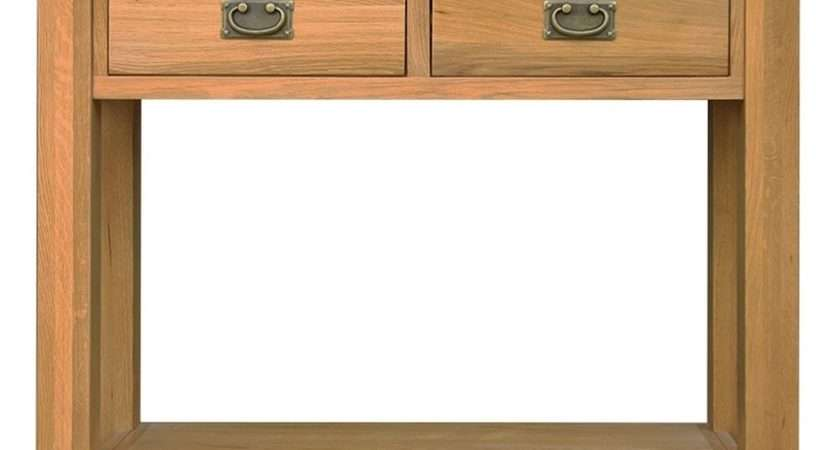 Marina Solid Oak Furniture Small Hallway Console Hall Table Ebay