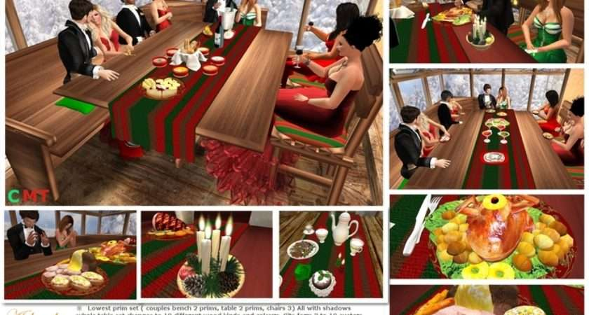 Marketplace Thanksgiving Table Christmas Two One Set