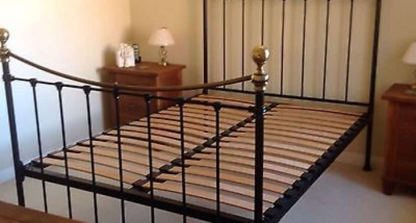 Marks Spencer Double Bed Frame Edwardian Cast Iron