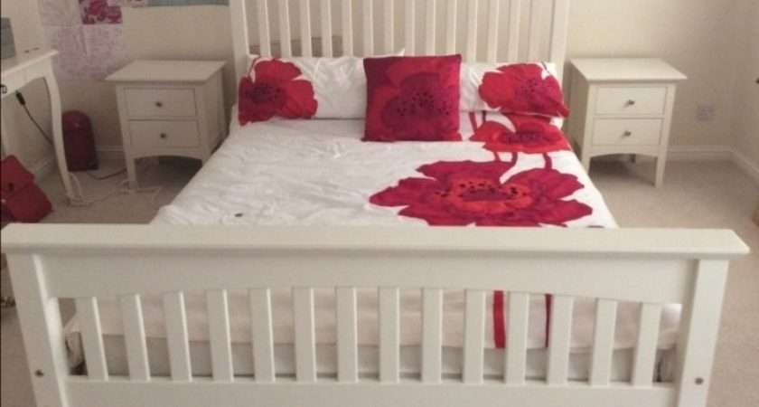 Marks Spencer Hastings Ivory Double Bed