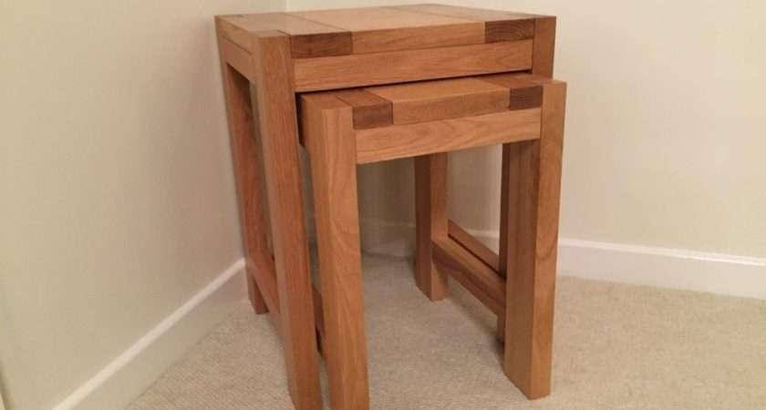 Marks Spencer Sonoma Light Nest Tables