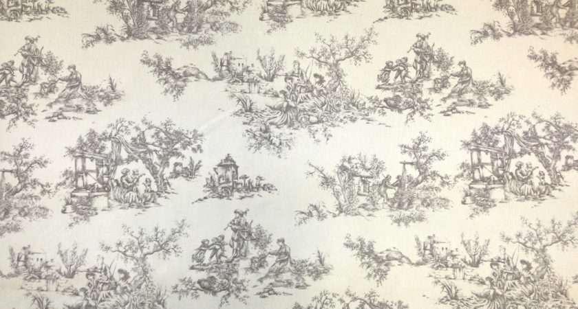 Marson Toile Jue Grey Textile Express Buy Fabric