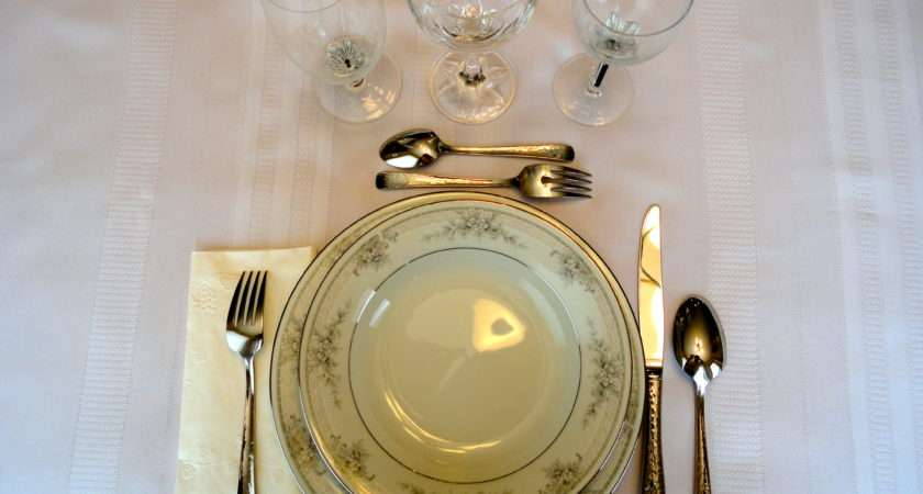 Marvellous French Table Setting Style Photos Best