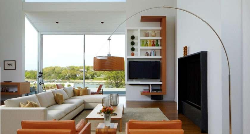 Marvelous Arc Floor Lamps Living Room Midcentury