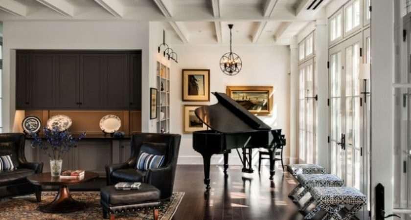 Marvelous Ideas Decorate Living Room Piano