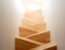 Marvelous Pine Wooden Cross Shaped Modern Stairs Small