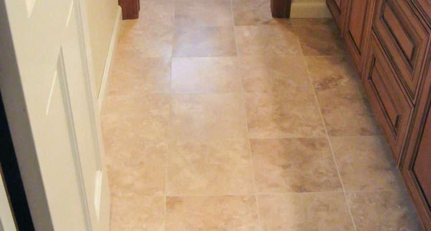 Master Bathroom Floor Tile Ideas Travertine Wood Floors