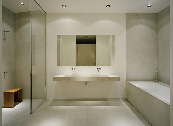 Master Bathroom Testament Beauty Minimalist Design