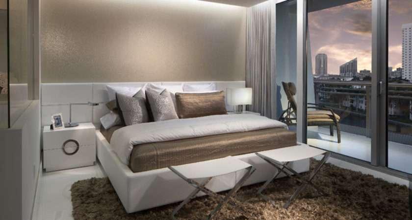 Master Bedroom Contemporary Miami