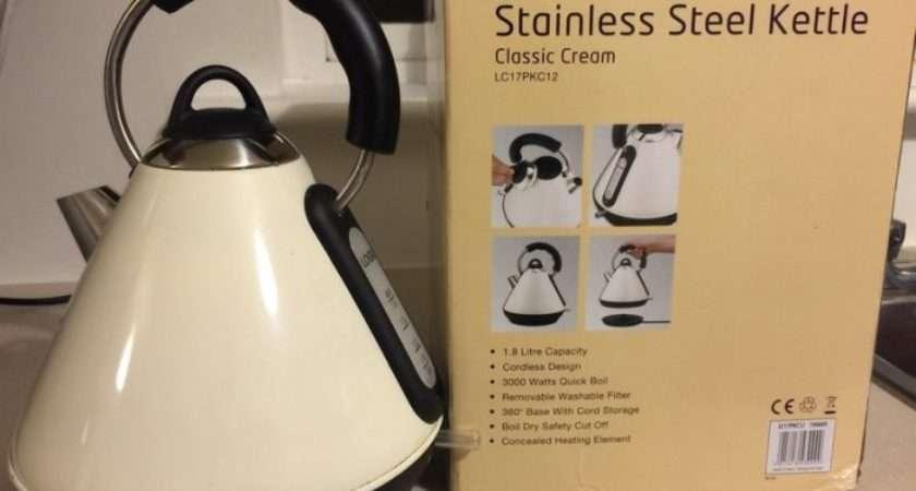 Matching Cream Colour Kettle Toaster Set Sale Finglas