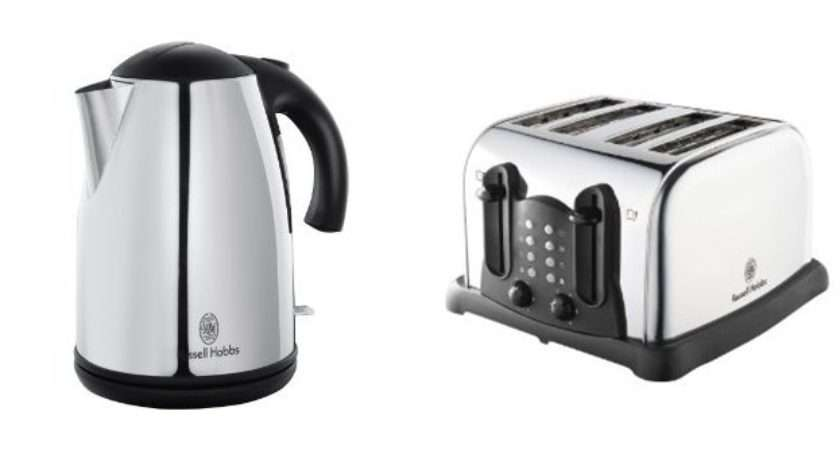 Matching Kettle Amp Slice Toaster Stainless Steel Set