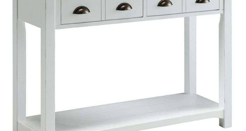 Mawson Off White Painted Hallway Furniture Console Hall