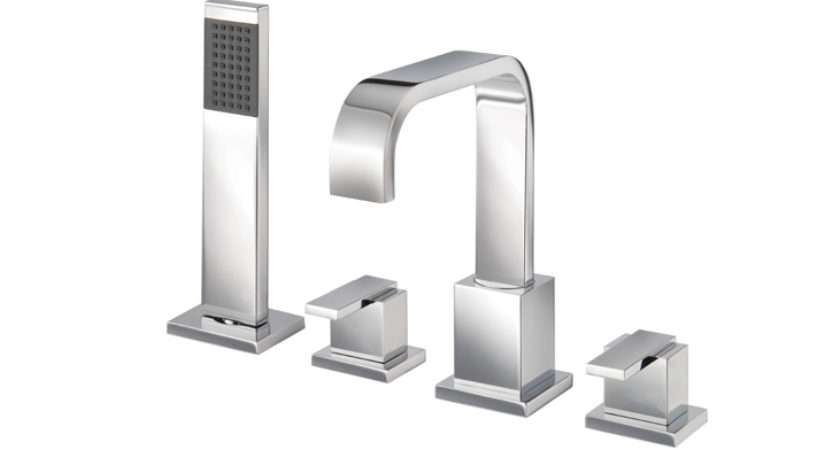 Mayfair Flow Hole Bath Shower Mixer Tap