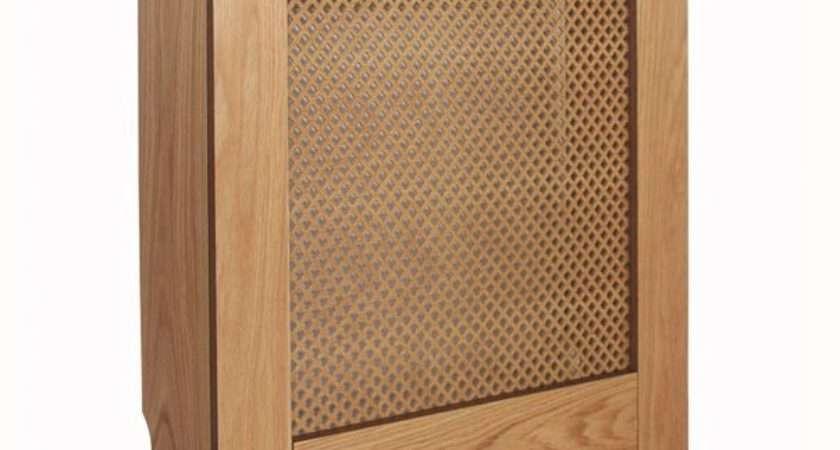 Mayfair Mini Oak Veneer Radiator Cover Departments Diy