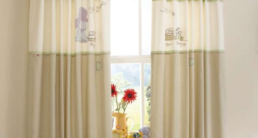 Measure Nursery Curtains Little Childrens Curtain