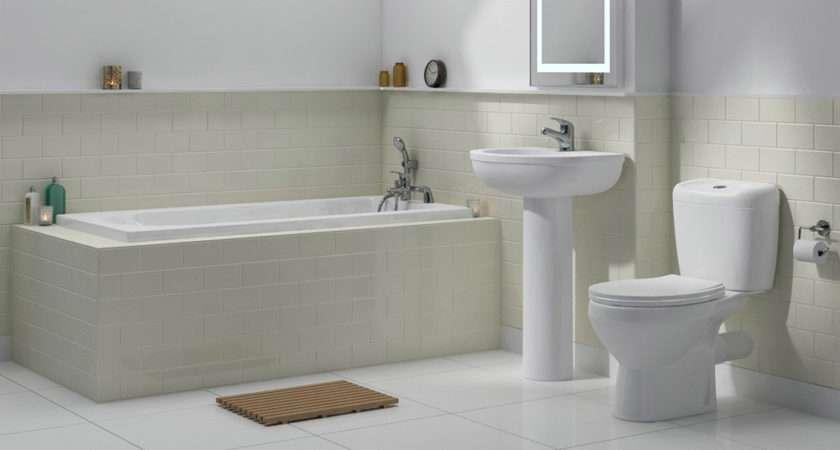 Melbourne Piece Bathroom Suite Bath Options
