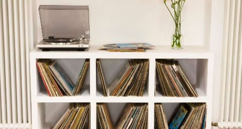 Melody Memoirs Creative Vinyl Record Storage Ideas